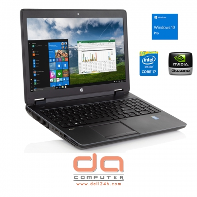 "HP ZBook 15 ( Core i7 4700MQ 2.4GHz | 8GB RAM | 256GB SSD | DVDRW | Quadro K1100M 2GB GDDR5 | 15.6"" ( 1920 x 1080) FHD )"