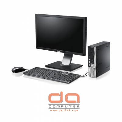 Dell OptiPlex 9020 USFF ( Core i3 - 4150 | 4GB RAM | 120GB SSD | DVD | Intel HD 4400 | Windows 7 Pro