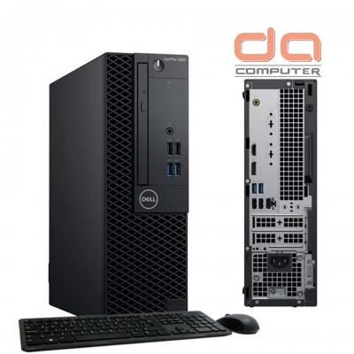Dell OptiPlex 3060 SFF ( i3 - 8100 Intel Core i3 3.6GHz | 4GB RAM | 1TB HDD | DVDRW | Intel HD 630 )